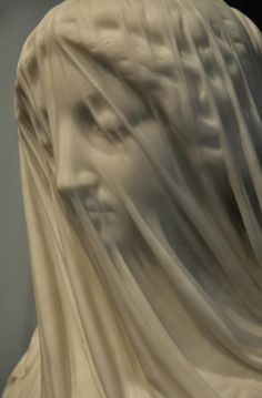 Today's Classic: The Veiled Virgin of Giovanni Strazza (1818-1875)