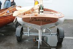 sailboat wooden | Michael Tyler's Catboat 'Lucie' designed by Mike Broome. Photo by Emma ...