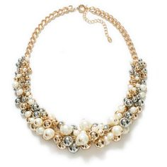 Zara Combination Pearl Necklace ($36) ❤ liked on Polyvore featuring jewelry, necklaces, accessories, zara, colares, only one, zara necklace, zara jewelry, pearl jewellery and pearl jewelry