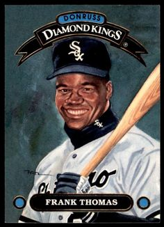 Frank Thomas 2016 PANINI DONRUSS 1982 Design BASEBALL CARD!!!