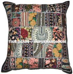 Very Important Note : We take all custom orders in any size/color for these pillows, cushions, round floor pillows and poufs. Very Important Note: We take all custom orders in any size/color for these pillows, cushions, round floor pillows and poufs. Sofa Throw Pillows, Cushions On Sofa, Floor Pillows, Black Cushions, Couch, Tapestry Bedding, Dorm Tapestry, Wall Tapestries, Indian Pillows