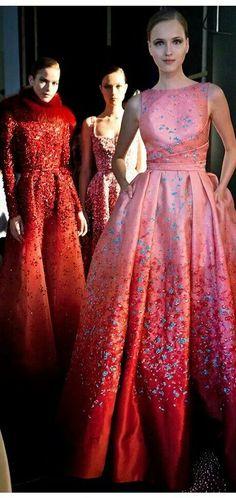 Backstage Elie Saab Couture F/W 2014-2015