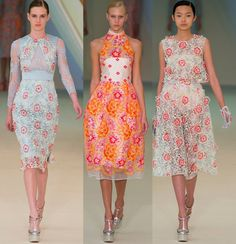 spring outfits   Erdem Spring 2013 Collection Presents LadyLike Dresses   Fashion Fame