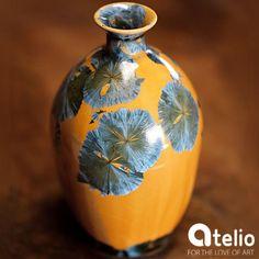 Wazon - lodowe kryształy. Artysta: Sztuk Kilka Ceramics. Do kupienia w atelio.pl