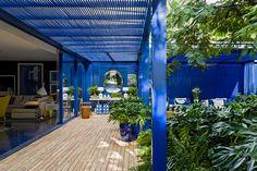 Casa de Valentina -CASA DE PRAIA | CASA COR - Essa azul contagia os olhos, lindo demais!