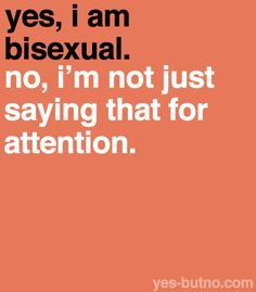 """This is exactly why I rarely ever discuss my sexuality with anyone, unless directly asked (even though I don't identify as """"bisexual;"""" I am pansexual). Bisexual Pride, Gay Pride, Couple Bi, Lgbt Quotes, Lgbt Memes, Def Not, Lgbt Community, Transgender, Equality"""