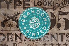 Brandon Printed by HVD Fonts on @creativemarket