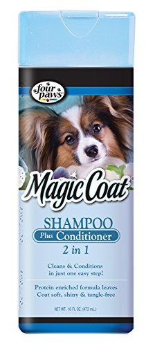 Four Paws Magic Coat 2-In-1 Dog Grooming Shampoo and Conditioner, 16oz * Check out the image by visiting the link.
