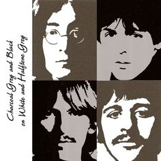 The Beatles - pop art Les Beatles, Beatles Art, Beatles Photos, Pop Rock, Rock And Roll, Rock Internacional, Richard Hamilton, Pop Art Portraits, Culture Pop