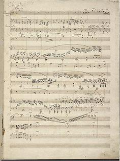 Sonata en Mib Maior para clarinete e piano de Felix Mendelsohnn,  composta en 1824. Consta de 3 movementos. Imaxe do primeiro movemento.