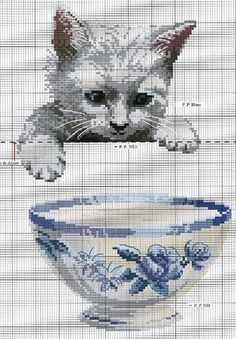 Thrilling Designing Your Own Cross Stitch Embroidery Patterns Ideas. Exhilarating Designing Your Own Cross Stitch Embroidery Patterns Ideas. Cat Cross Stitches, Cross Stitch Charts, Cross Stitch Designs, Cross Stitching, Cross Stitch Embroidery, Embroidery Patterns, Cross Stitch Patterns, Cross Stitch Kitchen, Cross Stitch Animals