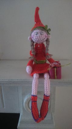 ༺༺༺♥Elles♥Heart♥Loves♥༺༺༺ ........♥Crochet Amigurumi♥........ #Amigurumi #Patterns #Crochet #Softies #Childrens #Toys #Handmade #Teddy #Doll #Tutorial #Patterns #Collectable~ ♥Amigurumi Patterns By Teddies With Love Crochet Crochet Christmas Elf