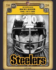 Rocky Bleier Intensity Tenth Power Card