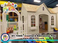 My Town Home and Garden | by Iplayco - INTERNATIONAL PLAY Playground Equipment - Dramatic and Imaginative Play - #myTOWN #weCREATEfun #weBUILDfun #PLAYtown #PretendPLAY
