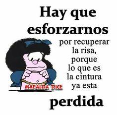 Mafalda. Humor. Chistes