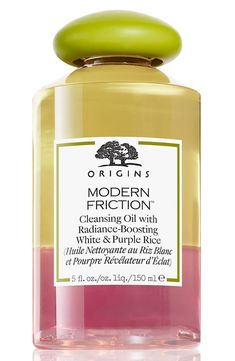 b071e9c8e827 Origins Modern Friction™ Cleansing Oil with Radiance-Boosting White    Purple Rice