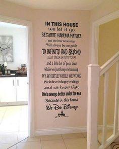 Disney Wall Decal