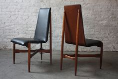 Striking Mid Century Modern Kodawood Floating Bentwood Dining Chair (1960's, USA), via Flickr.