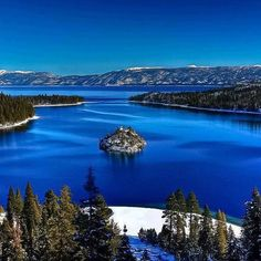 Tranquil Emerald Bay, South Lake Tahoe , California , USA
