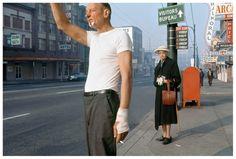 man with bandage, 1968 • fredherzog