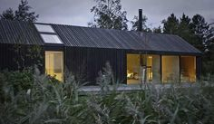 gable roof continious cladding - Google Search