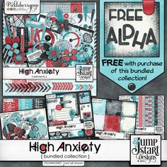 High Anxiety ~ Bundle by Jumpstart Designs! Grab this awesome bundle while it is 30%!!!