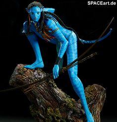 Avatar: Neytiri - Deluxe Statue, Fertig-Modell ... http://spaceart.de/produkte/avt001.php