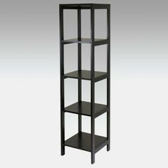 Winsome Hailey Wood Bookcase Etagere - Espresso - modern - bookcases cabinets and computer armoires - Hayneedle