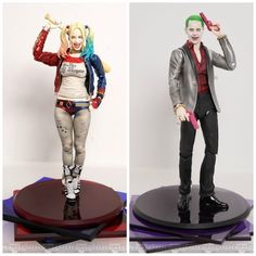 S.H. Figuarts Debuts 'Suicide Squad' Harley Quinn And Joker Figures