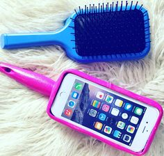 Ever wanted to brush your hair with your phone!? No?  ok so maybe not but I am still a gonna show you how you can!  Link to watch is in my bio and here: https://youtu.be/Gnb7BKXZVxg