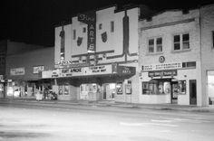 Denton, Texas square 1981