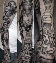 #Borderlands x #MortalKombat Tattoo