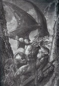 Simon Bisley, Cool Optical Illusions, Satanic Art, Occult Art, Dark Paradise, Heaven And Hell, Science Fiction Art, Angels And Demons, Angel Art