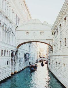 Die Seufzerbrücke, Venedig