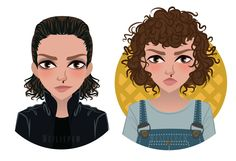 Eleven Phases - Punk or Cute - Stranger Things by WeiWei-Adoptables.deviantart.com on @DeviantArt
