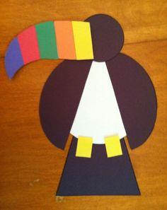 Easy toucan craft