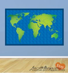 Politcal map of the world laminated pinboard mounted extra politcal map of the world laminated pinboard mounted extra large on etsy 12600 bc fireplacestairs pinterest wall maps mud rooms and gumiabroncs Choice Image