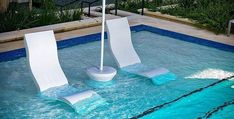Submersible pool-side table adds convenience + water-resistance to your lounging experience, available in 13 colors. Shop BOXHILL for all modern outdoor style! Small Swimming Pools, My Pool, Swimming Pools Backyard, Swimming Pool Designs, Pool Decks, Small Inground Pool, Inground Pool Designs, Pool Fun, Small Pools