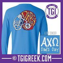 Alpha Chi Omega - TGI Greek - Comfort Colors -Dad's Day- Greek T-shirts #TGIGreek #AlphaChiOmega #Dadsday