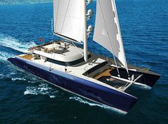 For when I win the lottery!  The 145 foot megacat Hemisphere.  The worlds largest catamaran!