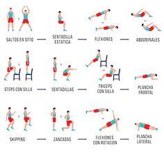 El régimen de #ejercicio de 7 minutos de duración