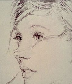 Drawing Portraits - O fil de lO Discover The Secrets Of Drawing Realistic Pencil Portraits.Let Me Show You How You Too Can Draw Realistic Pencil Portraits With My Truly Step-by-Step Guide. Art And Illustration, Pencil Art, Pencil Drawings, Funny Drawings, Pencil Portrait, Drawing People, Drawing Sketches, Sketching, Face Sketch