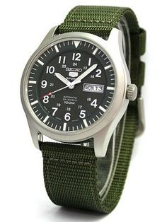Seiko Made in Japan Automatic Military Watchesopen