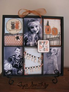 Our products will make scrapbooking easy and fun! Cute Diy Projects, Dyi Crafts, Scrapbook Paper Crafts, Scrapbook Cards, Paper Crafting, Halloween Photos, Halloween Crafts, Photo Boxes, Halloween Scrapbook