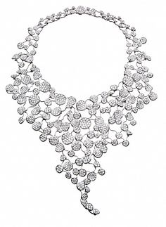Asprey Lily Pad Necklace Diamond Solitaire Necklaces Pendant Jewelry