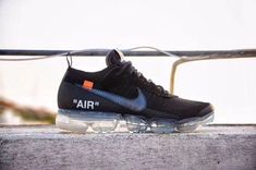 4057c674ffbf6 Mens Womens Nike Air Max 2018 Air VaporMax Shoes Black Gray
