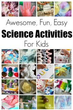 Science Activities for Kids . Tons of fun and easy science activities for kids. Classic science experiments and wild and wacky science-based activities for home Toddler Science Experiments, Science Activities For Kids, Kindergarten Science, Science Classroom, Science Lessons, Science Projects, Science Fun, Science Ideas, Science Crafts