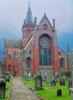 St Magnus Cathedral in Scotland.