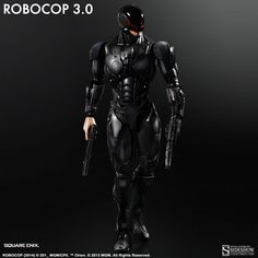 Robocop RoboCop Version 3.0 Collectible Figure by Square Eni | Sideshow Collectibles