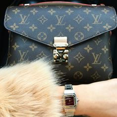 Louis Vuitton Pochette Metis & Cartier Watch
